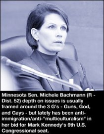 The terrifying and horrifying Michele Bachmann