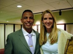 Ann Coulter hugs Matt Sanchez