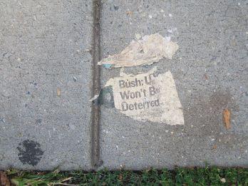 sidewalk scrap