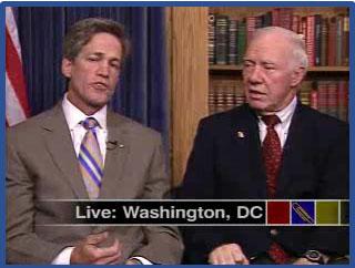 US Senator Coleman (R) Congressman Obertar (D)