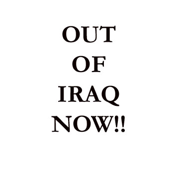 Out of Iraq Now