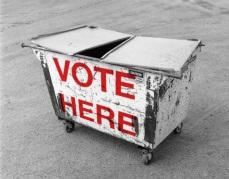 Voting Dumpster