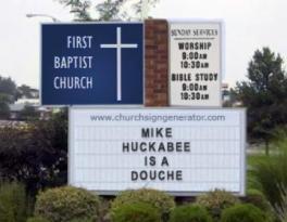 huckabee_douche
