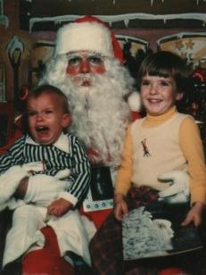 really hates santa