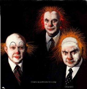 clown politicians
