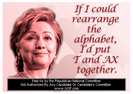 Hillary Clinton Valentine