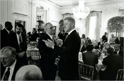 Clinton With Jeremiah Wright