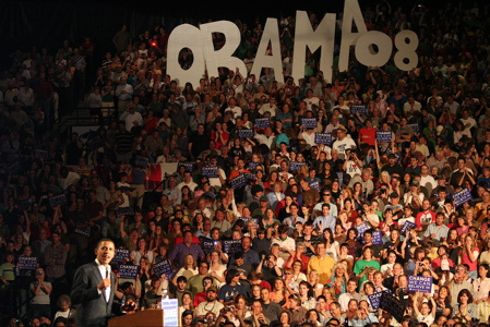 Barack Obama in Bozeman, MT
