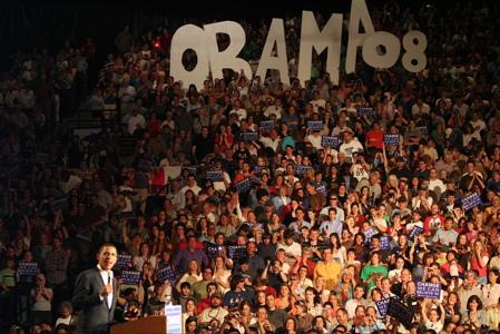 Barack Obama in Bozeman, MT